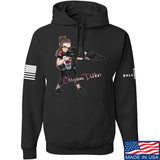 Cheyenne Dalton Cheyenne Dalton Morale Hoodie Hoodies Small / Black by Ballistic Ink - Made in America USA