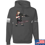 Cheyenne Dalton Cheyenne Dalton Morale Hoodie Hoodies Small / Charcoal by Ballistic Ink - Made in America USA