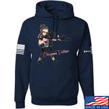 Cheyenne Dalton Cheyenne Dalton Morale Hoodie Hoodies Small / Navy by Ballistic Ink - Made in America USA