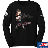 Cheyenne Dalton Cheyenne Dalton Morale Long Sleeve T-Shirt Long Sleeve Small / Black by Ballistic Ink - Made in America USA