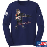 Cheyenne Dalton Cheyenne Dalton Morale Long Sleeve T-Shirt Long Sleeve Small / Navy by Ballistic Ink - Made in America USA