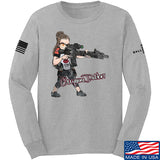 Cheyenne Dalton Cheyenne Dalton Morale Long Sleeve T-Shirt Long Sleeve Small / Light Grey by Ballistic Ink - Made in America USA