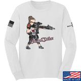 Cheyenne Dalton Cheyenne Dalton Morale Long Sleeve T-Shirt Long Sleeve Small / White by Ballistic Ink - Made in America USA