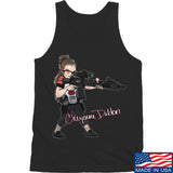 Cheyenne Dalton Cheyenne Dalton Morale Logo Tank Tanks SMALL / Black by Ballistic Ink - Made in America USA