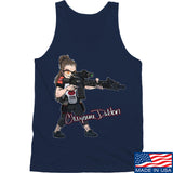 Cheyenne Dalton Cheyenne Dalton Morale Logo Tank Tanks SMALL / Navy by Ballistic Ink - Made in America USA
