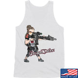 Cheyenne Dalton Cheyenne Dalton Morale Logo Tank Tanks SMALL / White by Ballistic Ink - Made in America USA