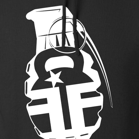 Fit'n Fire AK Grenade Hoodie Hoodies [variant_title] by Ballistic Ink - Made in America USA