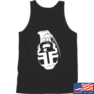 Fit'n Fire AK Grenade Tank Tanks SMALL / Black by Ballistic Ink - Made in America USA