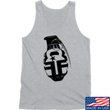 Fit'n Fire AK Grenade Tank Tanks SMALL / Light Grey by Ballistic Ink - Made in America USA