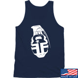 Fit'n Fire AK Grenade Tank Tanks SMALL / Navy by Ballistic Ink - Made in America USA