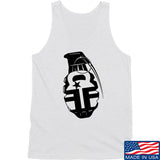 Fit'n Fire AK Grenade Tank Tanks SMALL / White by Ballistic Ink - Made in America USA
