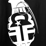 Fit'n Fire AK Grenade T-Shirt T-Shirts [variant_title] by Ballistic Ink - Made in America USA