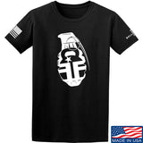 Fit'n Fire AK Grenade T-Shirt T-Shirts Small / Black by Ballistic Ink - Made in America USA