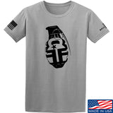 Fit'n Fire AK Grenade T-Shirt T-Shirts Small / Light Grey by Ballistic Ink - Made in America USA