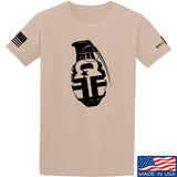 Fit'n Fire AK Grenade T-Shirt T-Shirts Small / Sand by Ballistic Ink - Made in America USA