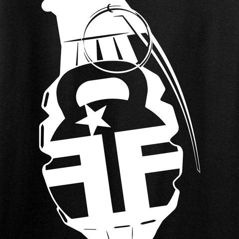 Fit'n Fire Ladies AK Grenade T-Shirt T-Shirts [variant_title] by Ballistic Ink - Made in America USA