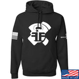 Fit'n Fire AK Lug Hoodie Hoodies Small / Black by Ballistic Ink - Made in America USA