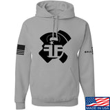 Fit'n Fire AK Lug Hoodie Hoodies Small / Light Grey by Ballistic Ink - Made in America USA