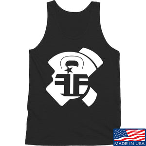 Fit'n Fire AK Lug Tank Tanks SMALL / White by Ballistic Ink - Made in America USA