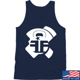 Fit'n Fire AK Lug Tank Tanks SMALL / Navy by Ballistic Ink - Made in America USA