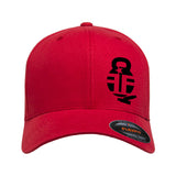 Fit'n Fire Fit'n Fire Bell and Shells Flexfit® Cap Headwear [variant_title] by Ballistic Ink - Made in America USA