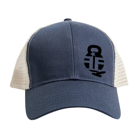 Fit'n Fire Fit'n Fire Bell and Shells Logo Snapback Cap Headwear [variant_title] by Ballistic Ink - Made in America USA