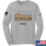 Fitty% Ammo-Sexual Long Sleeve T-Shirt Long Sleeve Small / Light Grey by Ballistic Ink - Made in America USA