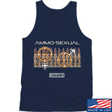 Fitty% Ammo-Sexual Tank Tanks SMALL / Navy by Ballistic Ink - Made in America USA