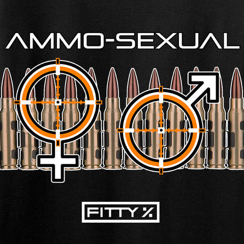 Fitty% Ammo-Sexual T-Shirt T-Shirts [variant_title] by Ballistic Ink - Made in America USA