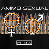 Fitty% Ammo-Sexual Long Sleeve T-Shirt Long Sleeve [variant_title] by Ballistic Ink - Made in America USA