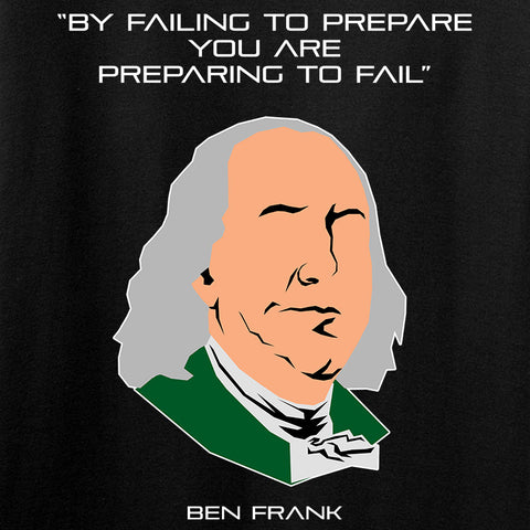 Fitty% Failing To Prepare T-Shirt T-Shirts [variant_title] by Ballistic Ink - Made in America USA