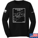 Fitty% Deck Project Long Sleeve T-Shirt Long Sleeve Small / Black by Ballistic Ink - Made in America USA