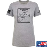 Fitty% Ladies Deck Project T-Shirt T-Shirts SMALL / Light Grey by Ballistic Ink - Made in America USA