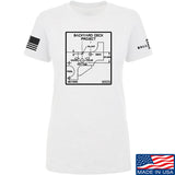Fitty% Ladies Deck Project T-Shirt T-Shirts SMALL / White by Ballistic Ink - Made in America USA