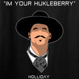 Fitty% Huckleberry T-Shirt T-Shirts [variant_title] by Ballistic Ink - Made in America USA