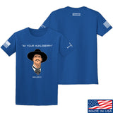 Fitty% Huckleberry T-Shirt T-Shirts Small / Blue by Ballistic Ink - Made in America USA