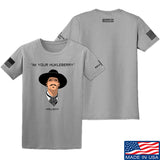 Fitty% Huckleberry T-Shirt T-Shirts Small / Light Grey by Ballistic Ink - Made in America USA