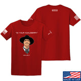 Fitty% Huckleberry T-Shirt T-Shirts Small / Red by Ballistic Ink - Made in America USA