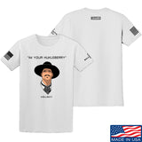 Fitty% Huckleberry T-Shirt T-Shirts Small / White by Ballistic Ink - Made in America USA