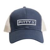 Fitty% Fitty% Full Logo Snapback Cap Headwear [variant_title] by Ballistic Ink - Made in America USA