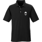 Fitty% Fitty% Logo Polo Polos Small / Black by Ballistic Ink - Made in America USA