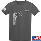 Fitty% Pistol - 2011 T-Shirt T-Shirts Small / Charcoal by Ballistic Ink - Made in America USA