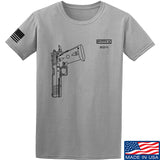 Fitty% Pistol - 2011 T-Shirt T-Shirts Small / Light Grey by Ballistic Ink - Made in America USA