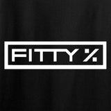 Fitty% Feelings vs Reason T-Shirt T-Shirts [variant_title] by Ballistic Ink - Made in America USA