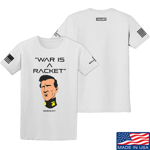 Fitty% War Is A Racket T-Shirt T-Shirts Small / Red by Ballistic Ink - Made in America USA