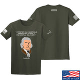 Fitty% Dangerous Freedom T-Shirt T-Shirts Small / Military Green by Ballistic Ink - Made in America USA