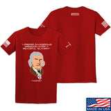 Fitty% Dangerous Freedom T-Shirt T-Shirts Small / Red by Ballistic Ink - Made in America USA