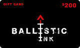 Ballistic Ink Gift Card Gift Card [variant_title] by Ballistic Ink - Made in America USA