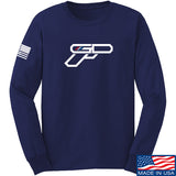 Gunsdaily Full Gun Logo Long Sleeve T-Shirt