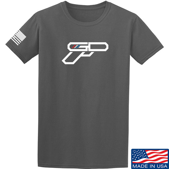 Gunsdaily Full Gun Logo T-Shirt